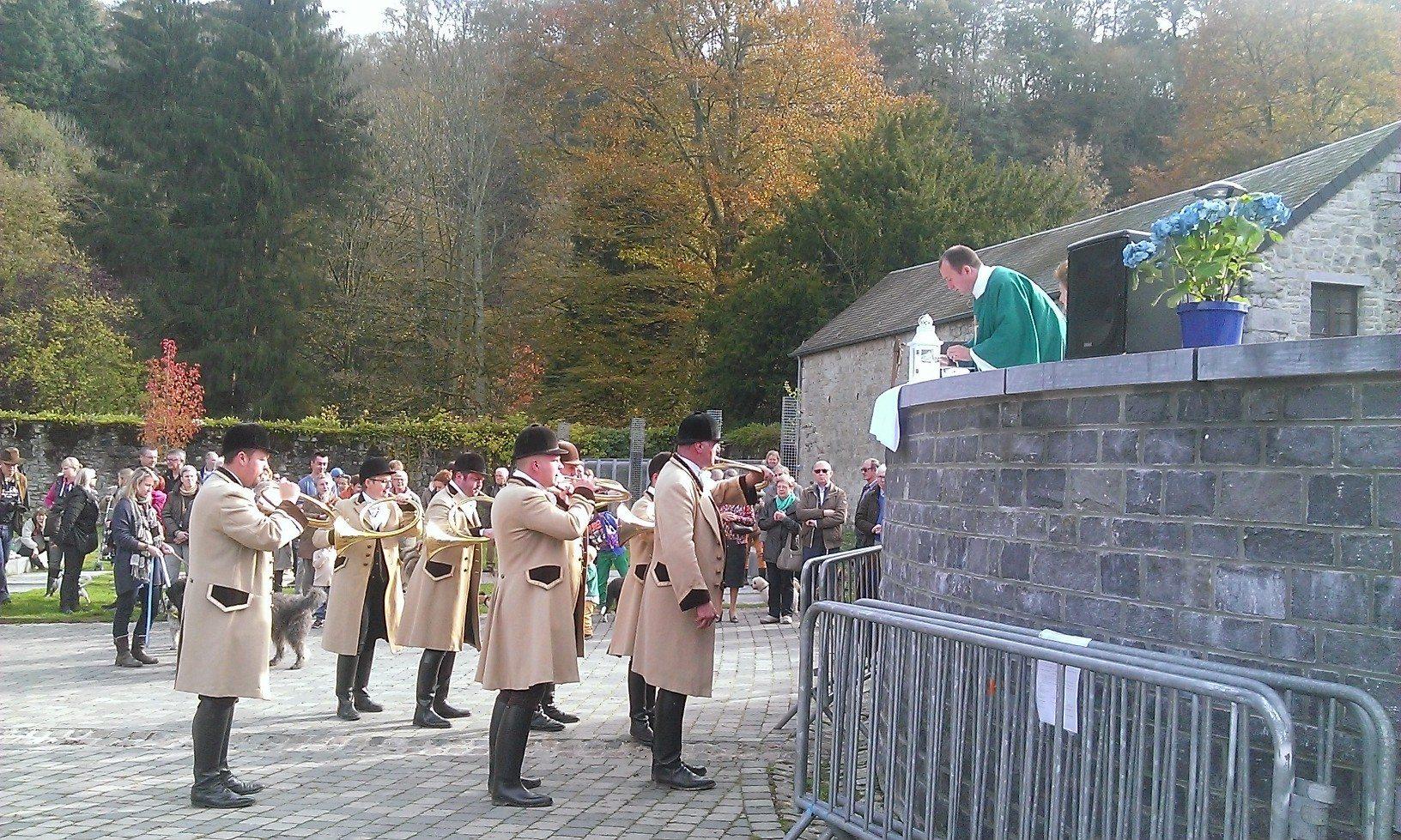 Sint-Hubertusviering in Durbuy