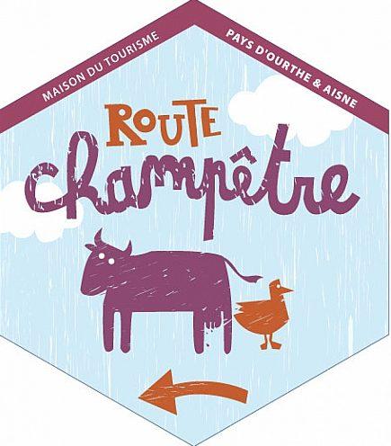 La Route Champêtre (63,3 km)