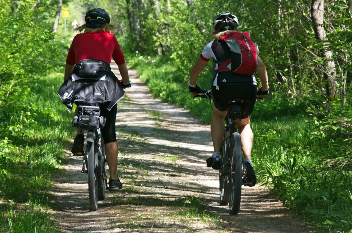 Fiets of mountainbike huren